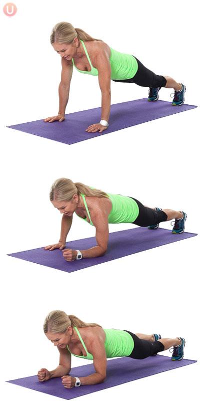 Army Crawl Plank