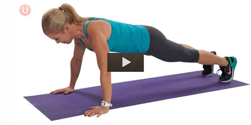 Learn how to do a proper push-up.