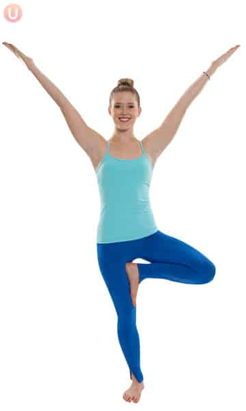 Learn how poses like tree pose can help you decompress and de-stress.