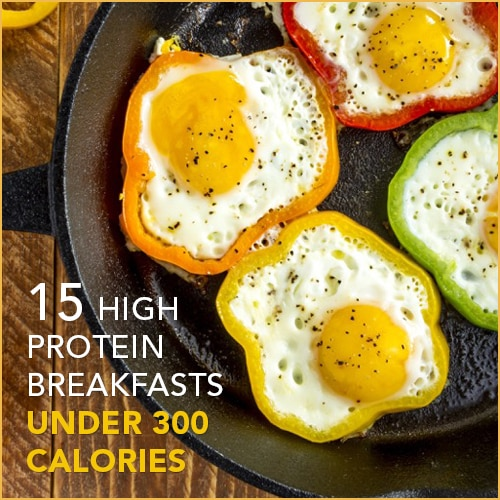 15 high protein low calorie breakfasts get healthy u check out these breakfast recipes all under 300 calories with major protein to fill you up forumfinder Choice Image