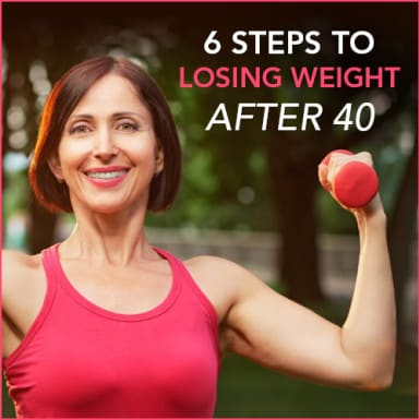Think losing weight after 40 has to be an uphill battle? Think again.