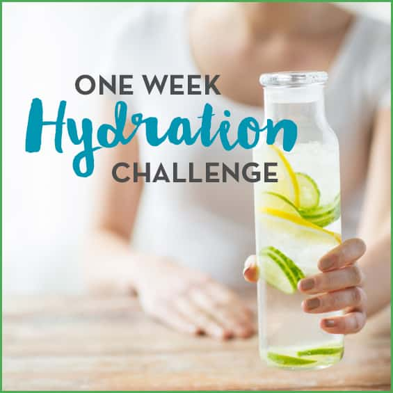 One Week Hydration Challenge