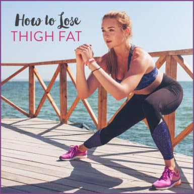 how to lose thigh fat